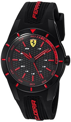 Ferrari Men's RedRev Stainless Steel Quartz Watch...