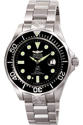 Invicta Men's 3044 Stainless Steel Grand Diver...