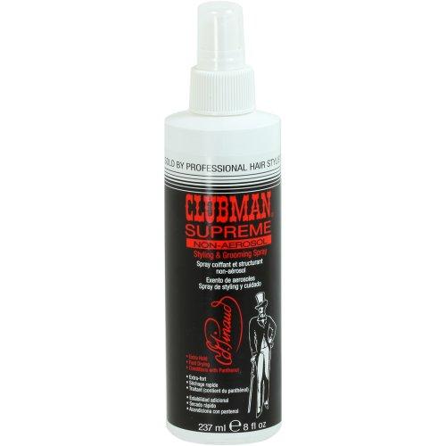 Clubman Supreme Non-Aerosol Hairspray, 8 fl oz