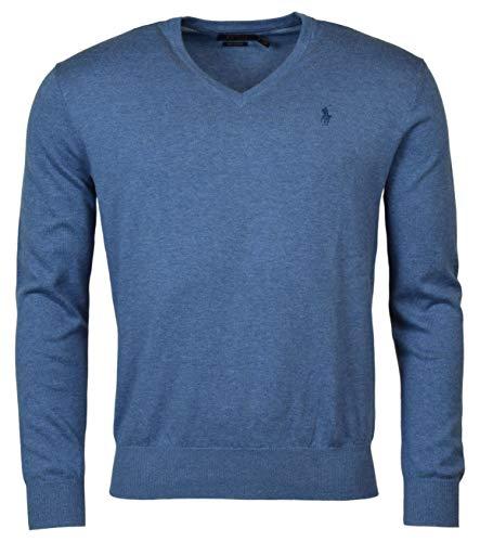 Polo Ralph Lauren Mens Pima Cotton V-Neck Sweater...