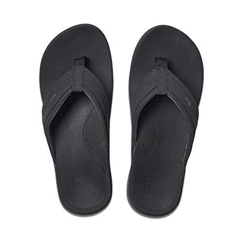 Reef Men's Ortho-Spring Flip-Flop, Black, 9
