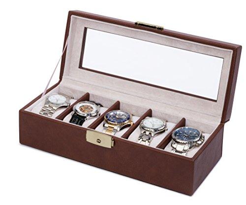 Orbita Roma 5 Chocolate Leather Watchcase