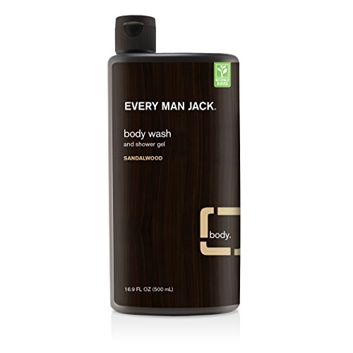 Every Man Jack - Body Wash & Shower Gel Sandalwood...