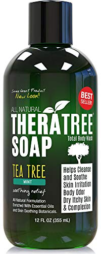 TheraTree Tea Tree Oil Soap with Neem Oil - 12oz -...