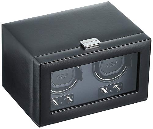 WOLF 270102 Heritage Double Watch Winder with...