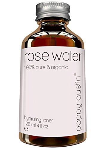 Pure Rose Water Facial Toner by Poppy Austin -...
