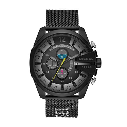 Diesel Men's MEGA Chief Quartz Watch with...