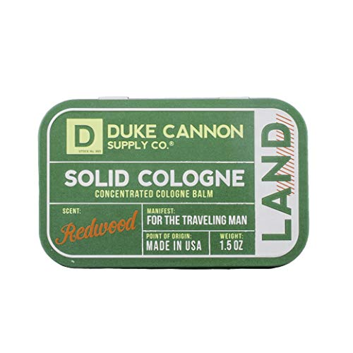 Duke Cannon Men's Solid Cologne, 1.5 oz - Land...