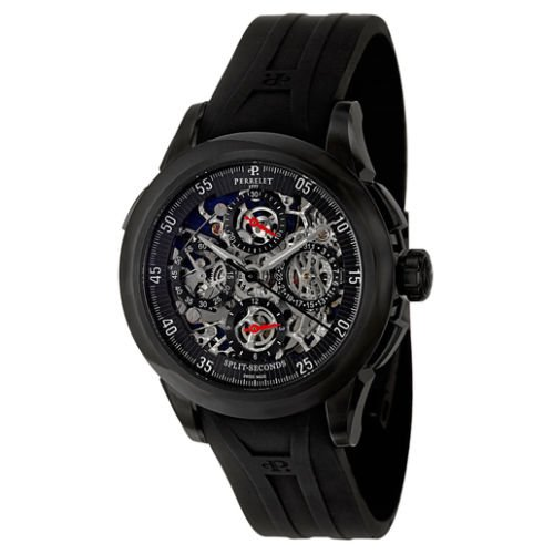Perrelet Chronograph Split Second Skeleton Men's...