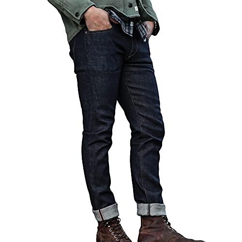HIROSHI KATO Slim fit Jeans The Pen 14 oz Indigo...