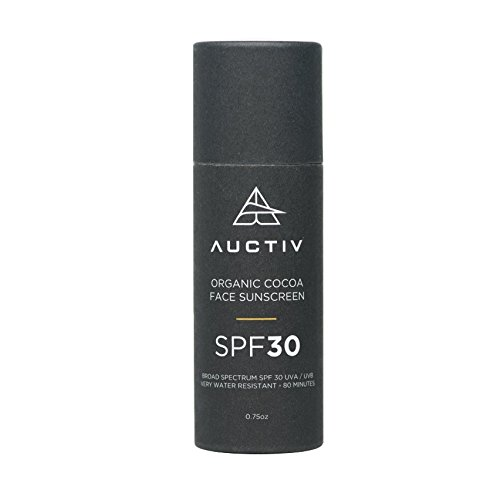 Auctiv Organic Face Sunscreen with SPF 30 for All...
