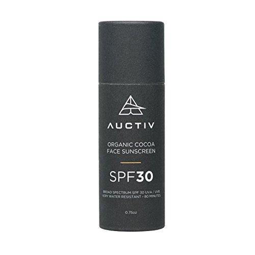 Auctiv – Organic Face Sunscreen, SPF 30 Non-Nano...