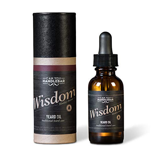 Wood Scent Premium Beard Oil for Men - Wisdom...