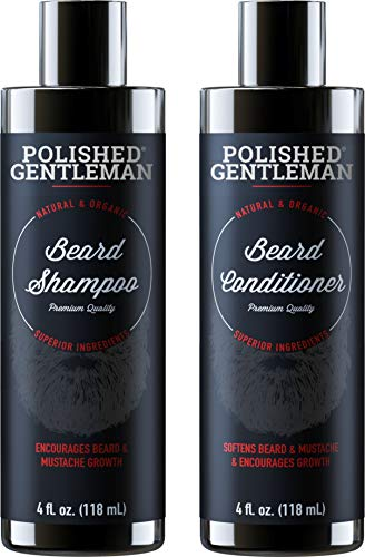 Beard Growth Shampoo and Conditioner Set - Best...