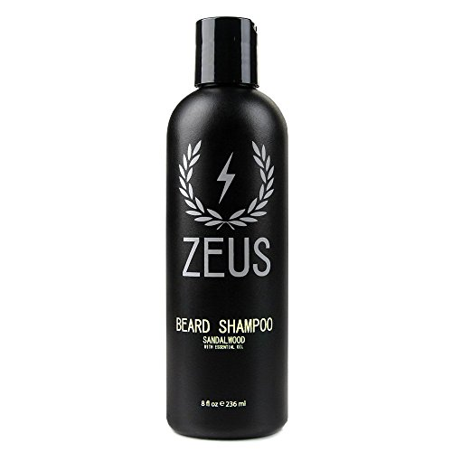 ZEUS Beard Shampoo and Wash for Men - 8oz - Beard...