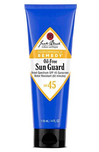 Jack Black - Oil-Free Sun Guard SPF 45 Sunscreen,...