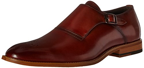 STACY ADAMS Men's Dinsmore Plain Toe Monk Strap...