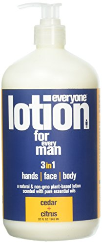 EO Products EveryOne Men's Lotion - Cedar And...