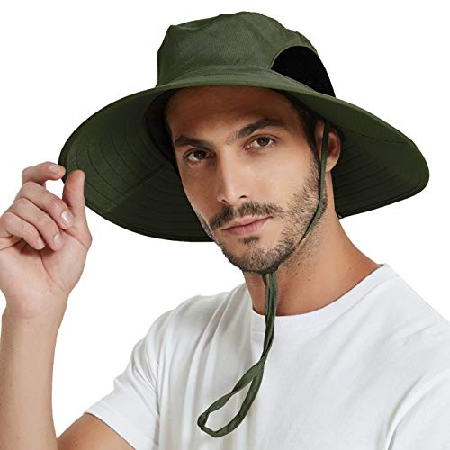 EINSKEY Men's Waterproof Sun Hat, Outdoor Sun...