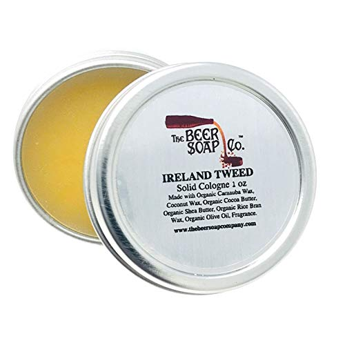 Ireland Tweed Solid Cologne by The Beer Soap...