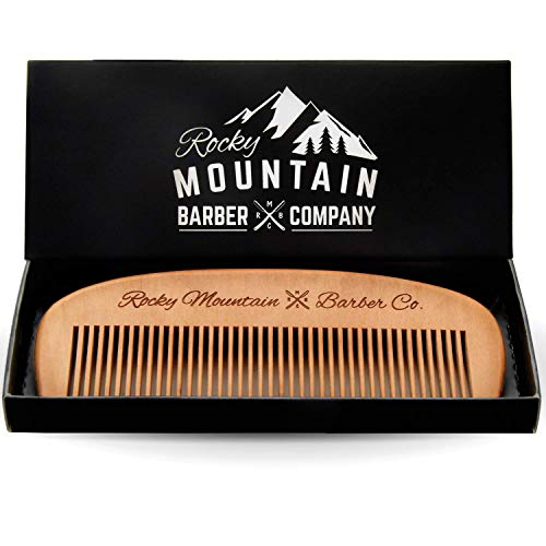 Hair Comb - Wood with Anti-Static & No Snag...