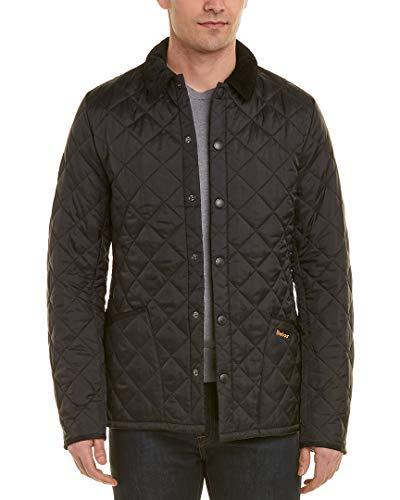 Barbour Mens Heritage Liddesdale Coat, XL Black