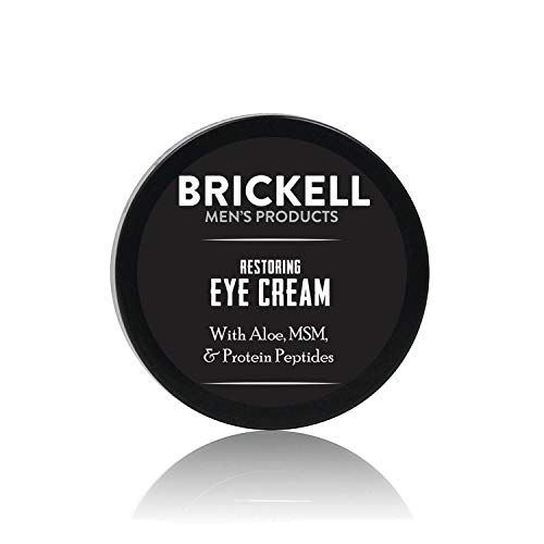 Brickell Men's Restoring Eye Cream for Men,...