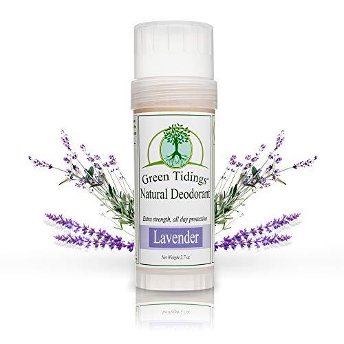 Green Tidings Natural Lavender Deodorant   Vegan,...