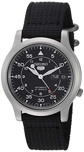Seiko Men's SNK809 Seiko 5 Automatic Stainless...