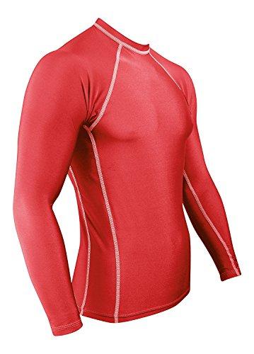 Rash Guard for Men Compression & Base Layer Shirt...
