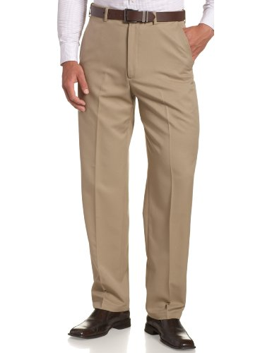 Haggar Men's Cool 18 Hidden Comfort Waist...