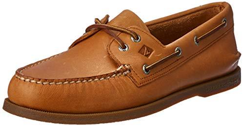 Sperry Mens A/O 2-Eye Boat Shoe, Sahara, 12