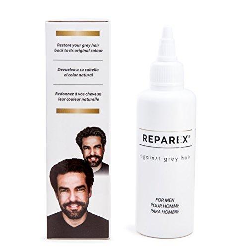 Gray Hair Treatment Formula for Men - Natural Hair...