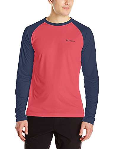 Columbia Men's Stream Upf 50 Swim Tee, Sunset...