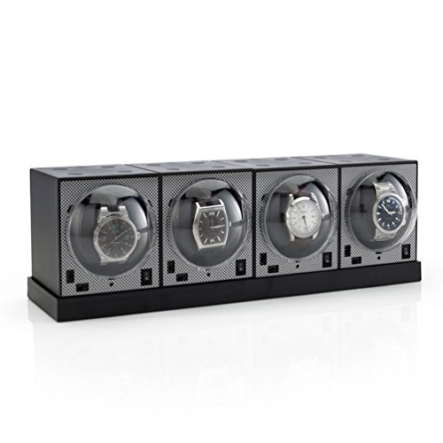 Brookstone Set of 4 Brick Watch Winders with Power...
