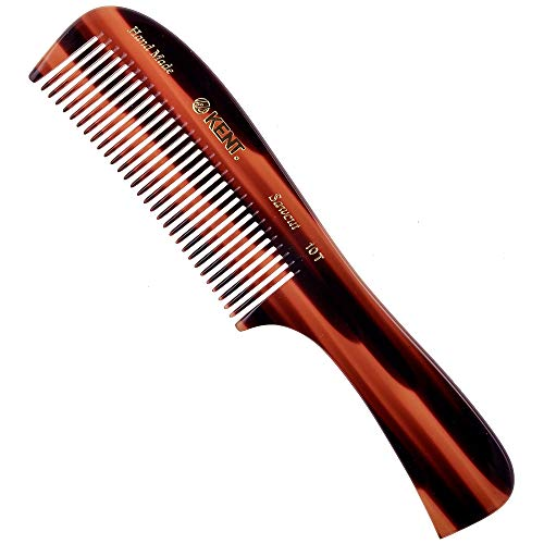 Kent 10T Large Wide Tooth Comb - Rake Comb Hair...