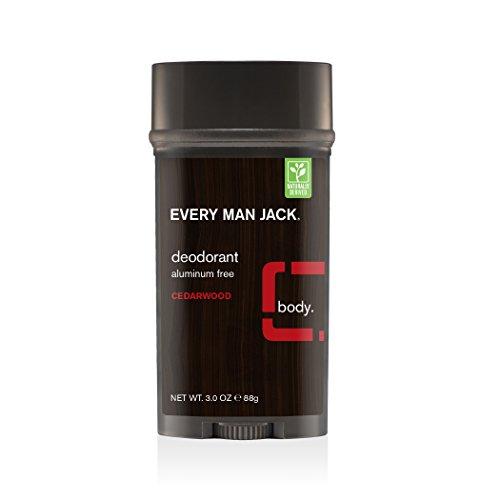 Every Man Jack Deodorant, Cedarwood, 3.0-ounce