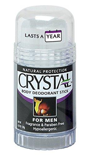 Crystal Mineral Deodorant Stick for Men,...