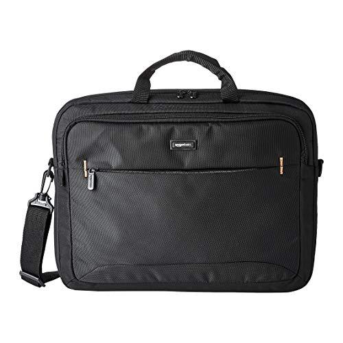 Amazon Basics 17.3-Inch HP Laptop Case Bag, Black,...