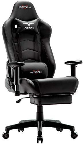 Ficmax Ergonomic Gaming Chair Massage Computer...