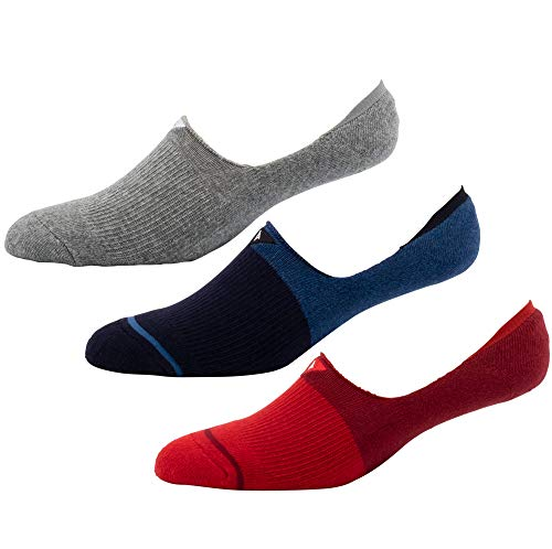Arvin Goods Recycled Cotton No Show Socks 3 Pack...