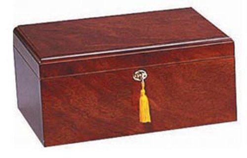Milano Humidor, Rosewood, Spanish Cedar Tray with...