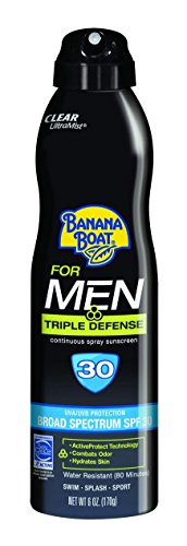 Banana Boat Sunscreen for Men Triple Defense Broad...