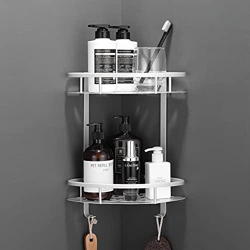 Flowmist 2 Tiers Corner Shower Caddy, Shower...