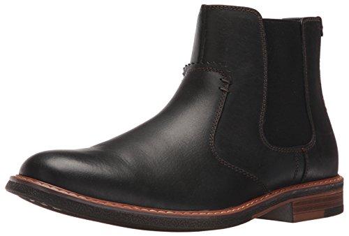 Dockers Men's Badger Chelsea Boot, Black, 10 M US