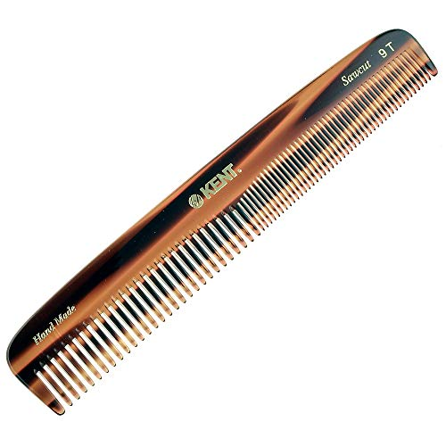 Kent Handmade Comb, Coarse and Fine Toothed Comb...
