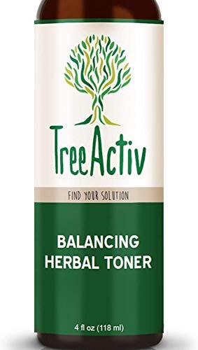 TreeActiv Balancing Herbal Toner, Face Toner, Rose...