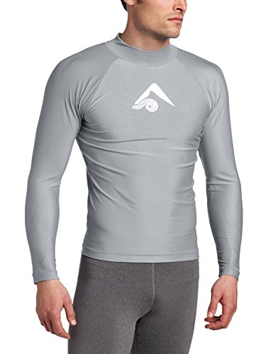 Kanu Surf Men's Long Sleeve Platinum UPF 50+...