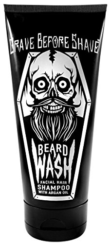 GRAVE BEFORE SHAVE BEARD WASH SHAMPOO 6oz. Tube