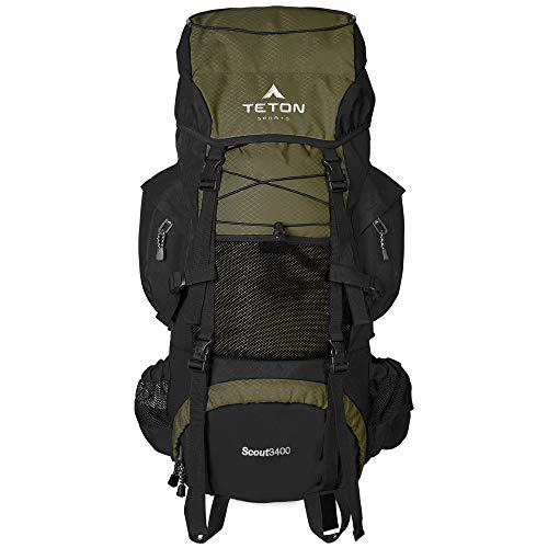 TETON Sports Scout 3400 Internal Frame Backpack;...